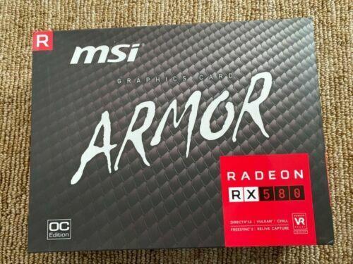 MSI Radeon RX 580 8GB GDDR5 Graphics Card *USED*