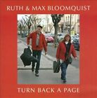 Turn Back a Page by Max Bloomquist/Ruth Bloomquist (CD, Jan-2010, CD Baby (distributor))