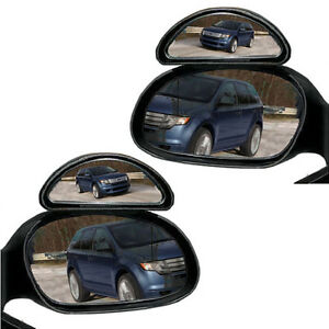 2-ADJUSTABLE-CAR-VAN-BLIND-SPOT-BLINDSPOT-MIRROR-MOTORWAY-REVERSING-TOWING