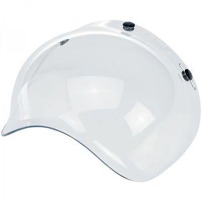 Visiera Caschi Casco Jet Bubble x Biltwell Bolla Trasparente Moto Yam Axo Bell