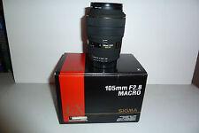 Sigma EX 105mm f/2.8 EX Lens Macro, for NIKON AF-D
