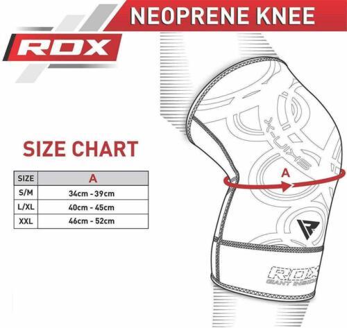 RDX MMA Néoprène Genouillère Sport Haltérophilie Boxe Genou Protection