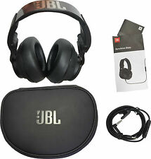 JBL Synchros Slate S500 Powered Over-the-Ear Stereo Headphones Black Steel Band