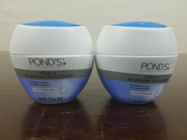 2 Pond's Crema s Nourishing Moisturizer Dry Skin Add Softness Cream 1.75oz