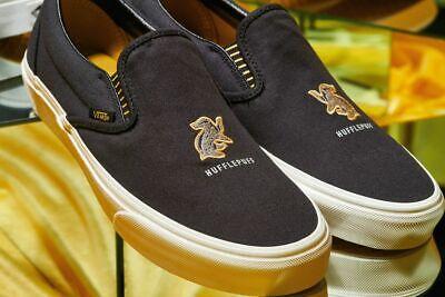 NIB Vans Limited Edition Harry Potter Blk Hufflepuff Classic Slip On VN0A4BV3V90 | eBay