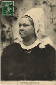 CPA LEZAY Coiffe de Lezay - Folklore (1141207)