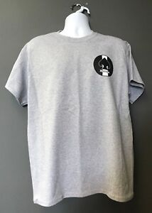 CIA HELMS SPEAR VINTAGE Veritatem Cognoscere Navy Blue Short Slv Morale T-Shirt