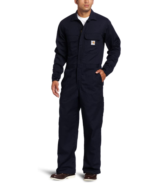 """Navy Blue /""""NEW/"""" Carhartt FR Fire Resistant Coverall"""
