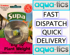 Plant Weights Supa Big 10 3 Metres Aquarium Fish Tank Lead Strip Live Plants New