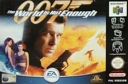 007 The World Is Not Enough Nintendo 64 2000 For Sale Online