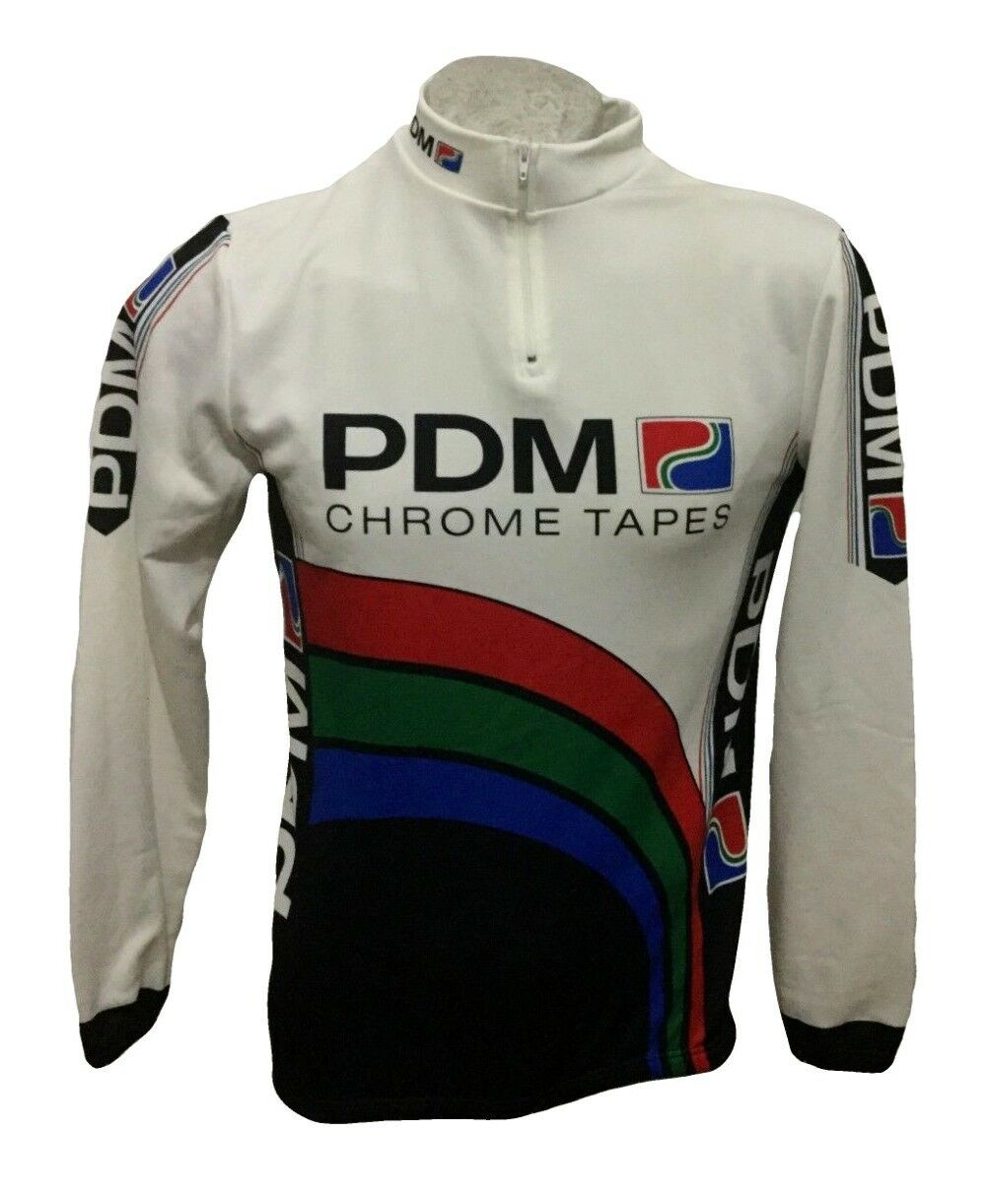 MAGLIA CICLISMO ULTIMA PDM CHROME TAPES CYCLING SHIRT TRIKOT JERSEY SIZE 5
