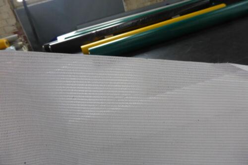 2,9€//² PVC Netz camping Sonnenschutz Windschutz 10m x 1,30m ca 300g//m weiß