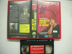 UNA BESTIA VESTITA DI SANGUE VHS Italian