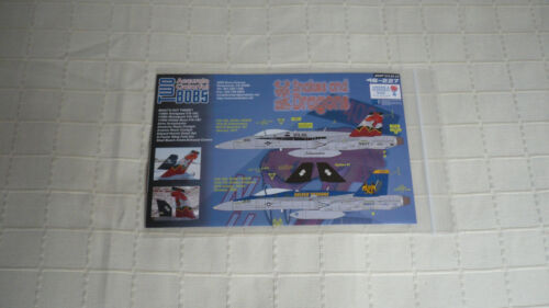 Two Bobs Decals 48227 F//A-18C Hornet VFA-86//192 Snakes and Dragons