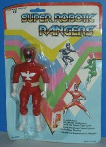 Super Robotic Rangers: Red Ranger {KO Power Rangers Figure}- New/Heavy Wear!!!