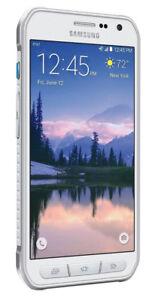 Samsung-Galaxy-S6-Active-SM-G890A-32-Go-AT-amp-T-Debloque-9-10-Neuf-Blanc-Telephone