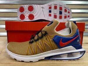 1579cbbd49d2 Image is loading Nike-Shox-Gravity-Running-Shoes-Metallic-Gold-USA-