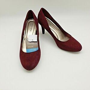 Predictions Comfort Plus Size 8 5 Slip On High Heels Women S Shoes New Ebay