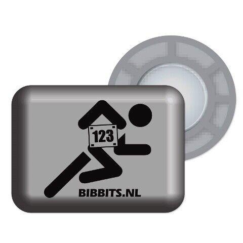 No Pins Needed Magnetic Race Bib Holder Bibbits