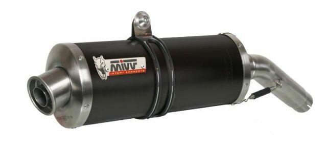 Y.023.L3 - Silencer Exhaust Mivv Oval Carbon Yamaha Fazer 1000 / FZ1 2006>