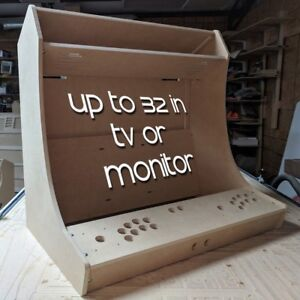 "DIY ""TINY"" Bartop / Tabletop Arcade Cabinet Kit for 32in ..."