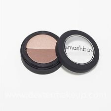 Smashbox Eye Shadow Duo in 'Glow/Getter' (shimmery light & med brown) Retail $24