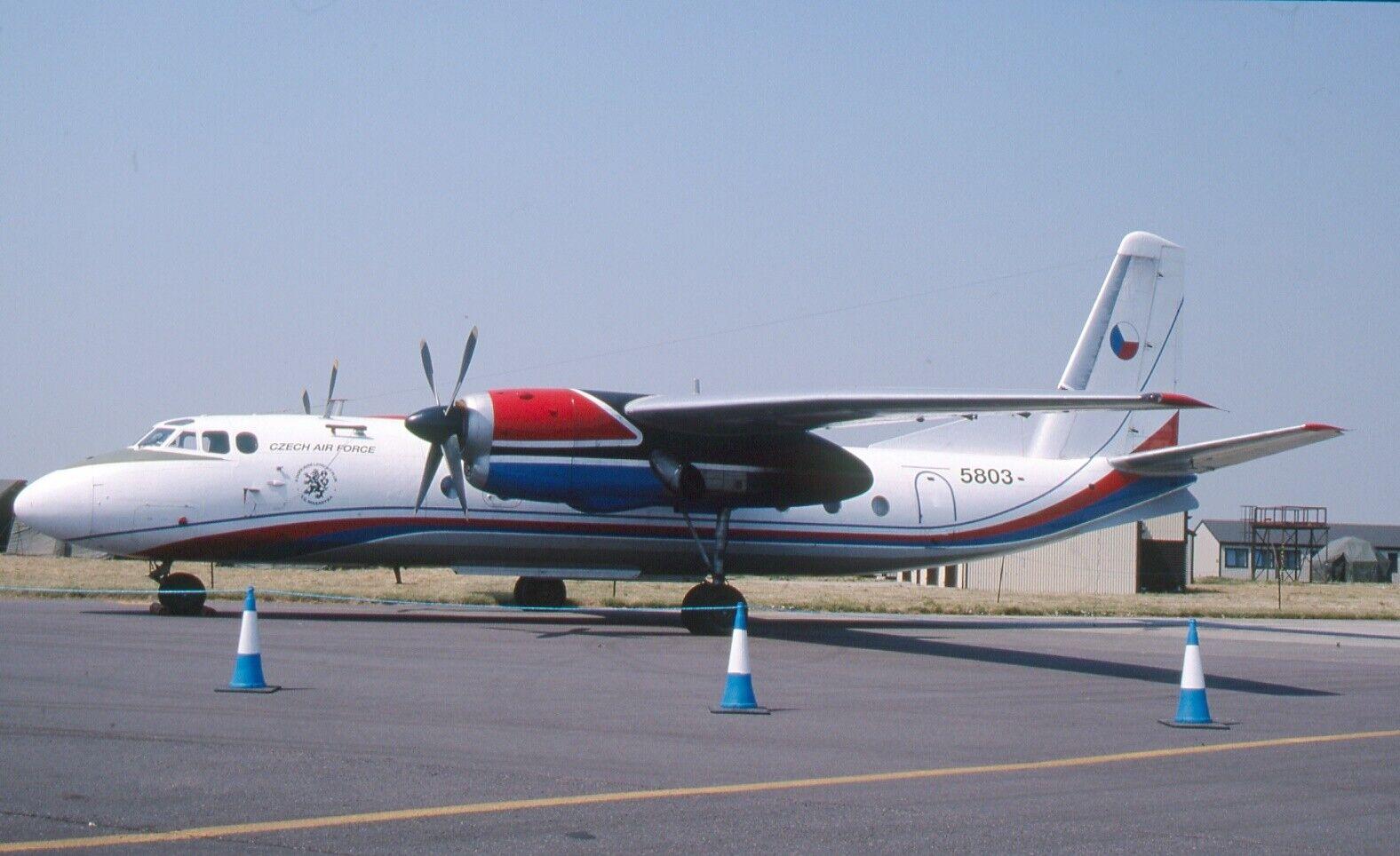 Original 35mm Aircraft slide Antonov An-24 #179