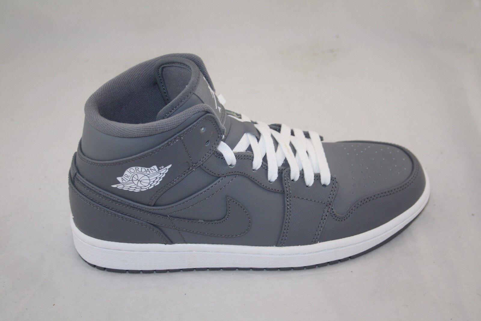 new arrival 26721 a38eb Nuevos Hombres Nike Air Air Air Jordan 1 Mid 554724-003 CoolGris   Blanco  Precio