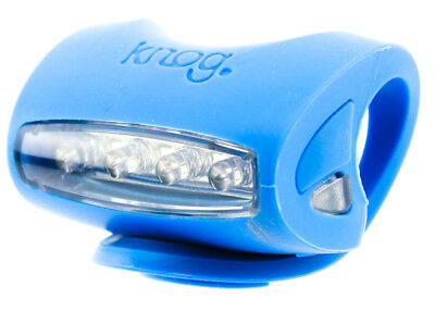 KNOG SKINK 4 White LED Bike Headlight Translucent 3 Flash Modes Water Resist NEW