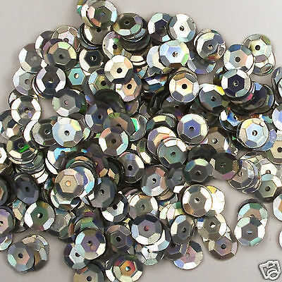 Sequins Royal Blue 8mm Round Cup ~400 or ~4,750 pieces Loose High Quality