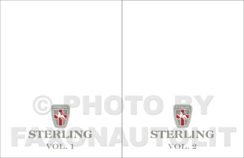 1987 1988 Sterling 825 Repair Shop Manual 87 88 Repair Service Books