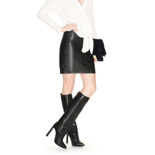Jimmy Leather Booties 35 Boots 5 Black Womens Choo Derive Tall Maat wPnvN80Oym