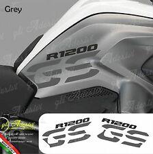 Set Adesivi Fianco Serbatoio Moto BMW R 1200 gs LC Grey