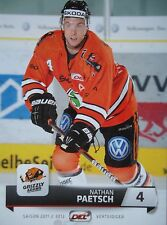 236 Nathan Paetsch Grizzly Adams Wolfsburg DEL 2011-12
