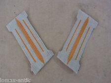 DAK Uniform Afrikakorps Einheits Kragenspiegel 1 Paar Mannschaften , 1 Paar