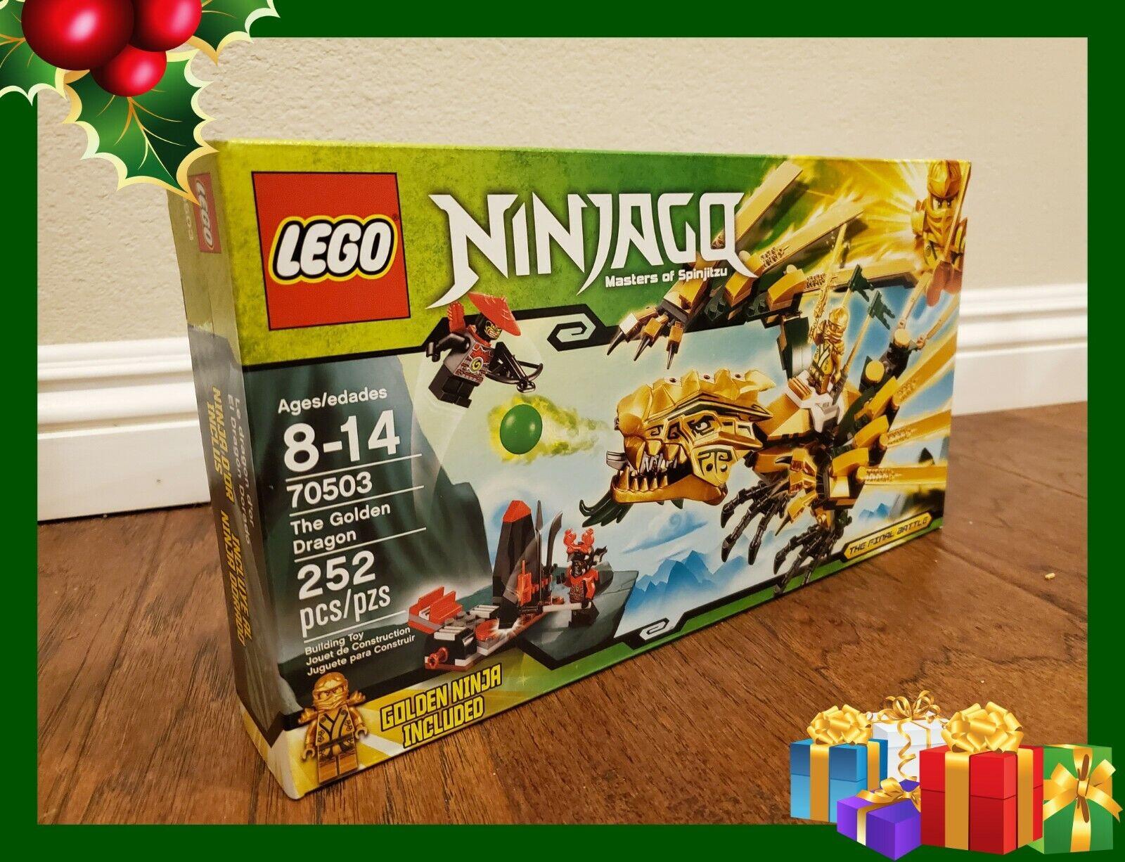 Lego Ninjago The Golden Dragon 70503 For Sale Online Ebay