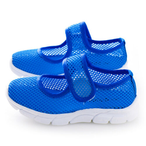 Hot Kids Mesh Trainers Girls Boys Breathable Summer Sandals Beach Sneakers Shoes