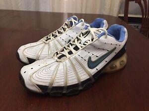 new product a3c94 14cf3 Nike Air Max 180 Mens 11 White/Black/Blue 314592-141 886550290173 | eBay