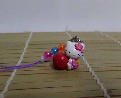 Hello Kitty Cosplay Kimono Big Apple Kitty Phone Strap