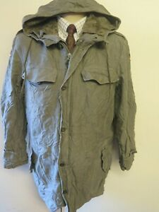 Details about GERMAN ARMY CLASSIC PARKA Military Combat Jacket Coat Olive M 38 40