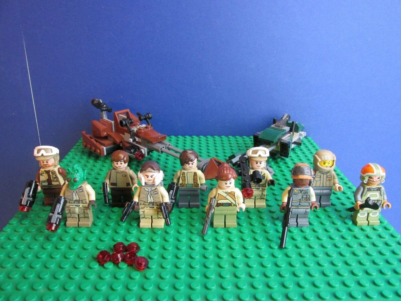 Genuine lego star wars Résistance Troopers Bolide figurine Force Réveille 37J