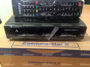 Zgemma Star S HD DVB SINGLE TUNER Linux Operating System - IPTV Box