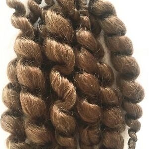 Reborn Doll Supplies Premium Curly Dark Brown Mohair 20g Look Real Baby Hair