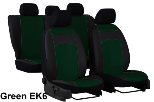 VOLKSWAGEN T-ROC 2017 ONWARDS ECO LEATHER TAILORED SEAT COVERS MADE TO MEASURE