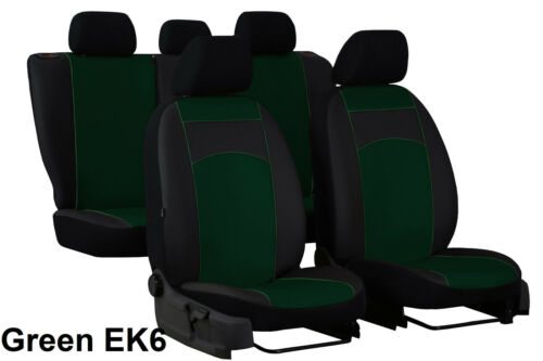 ECO LEATHER TAILORED SEAT COVERS MADE FOR NISSAN X-TRAIL Mk3 2014 ONWARDS