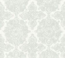 Création Vliestapete Boho Love Tapete mit Federn creme grau weiß 364651 A.S