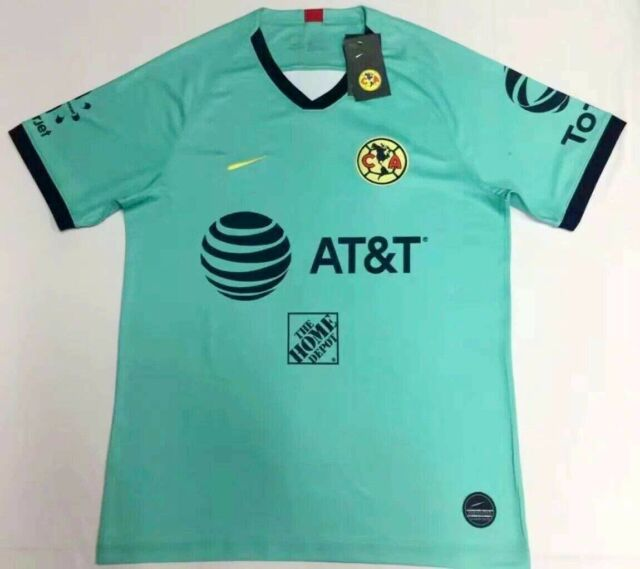 new concept 0e835 8cc01 2019-2020 Club America goalkeeper soccer Jersey Short sleeve T-shirt size  S-2XL
