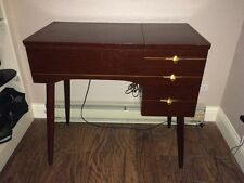 1954 Singer Sewing Machine with Cabinet and accessories