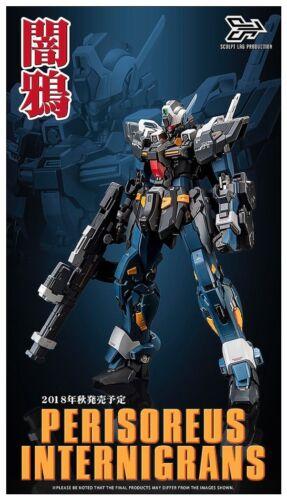 New SCULPT LAB Perisoreus Internigrans MK2 Diecast 7in Action Figure Robot toy
