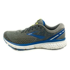 Brooks Ghost 11 Running Shoes - Men's Size 11.5 - Gray Blue